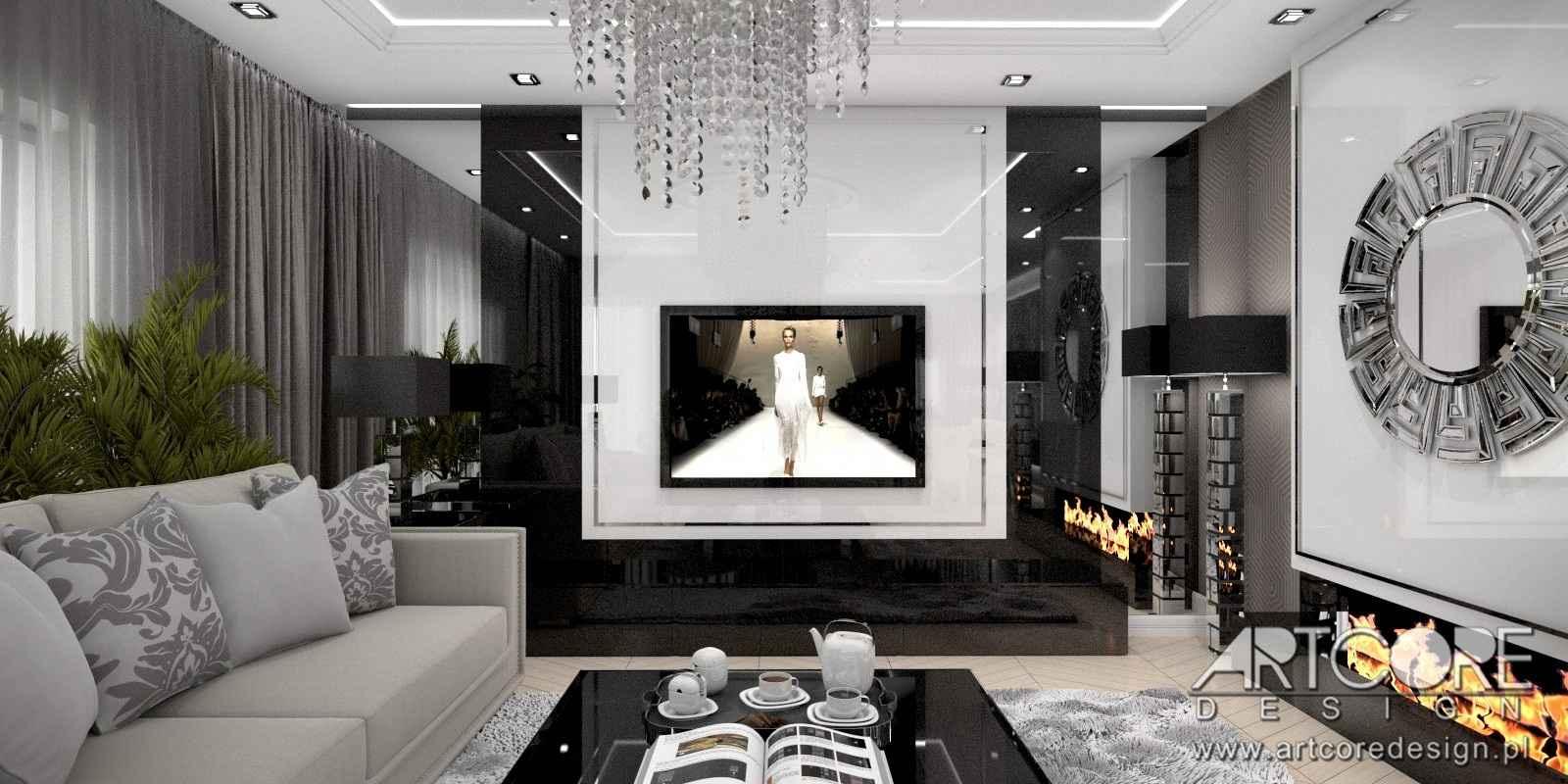 projektowanie-wnętrza-salonu-w-domu-pod-warszaw