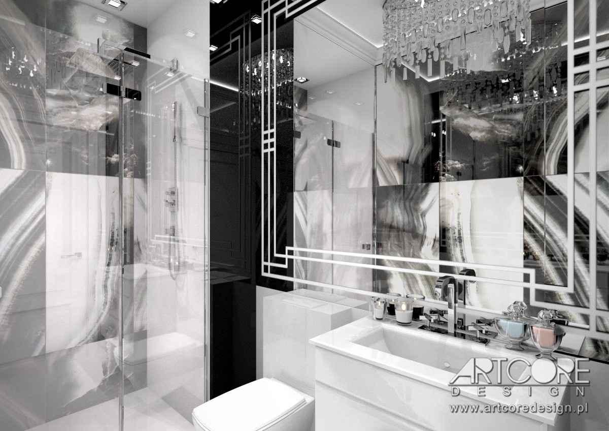 projekt wnetrza łazienki w warszawie