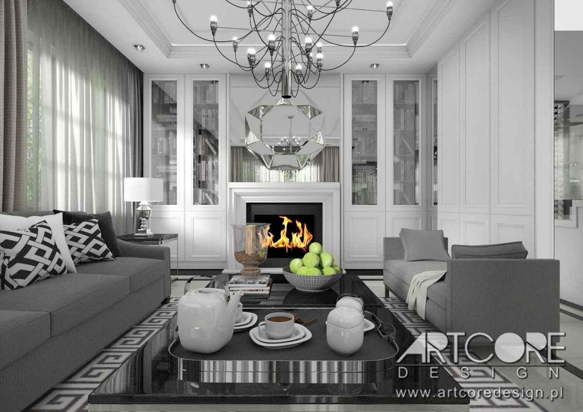 Piękne klasyczne wnętrze warszawskiego apartamentu