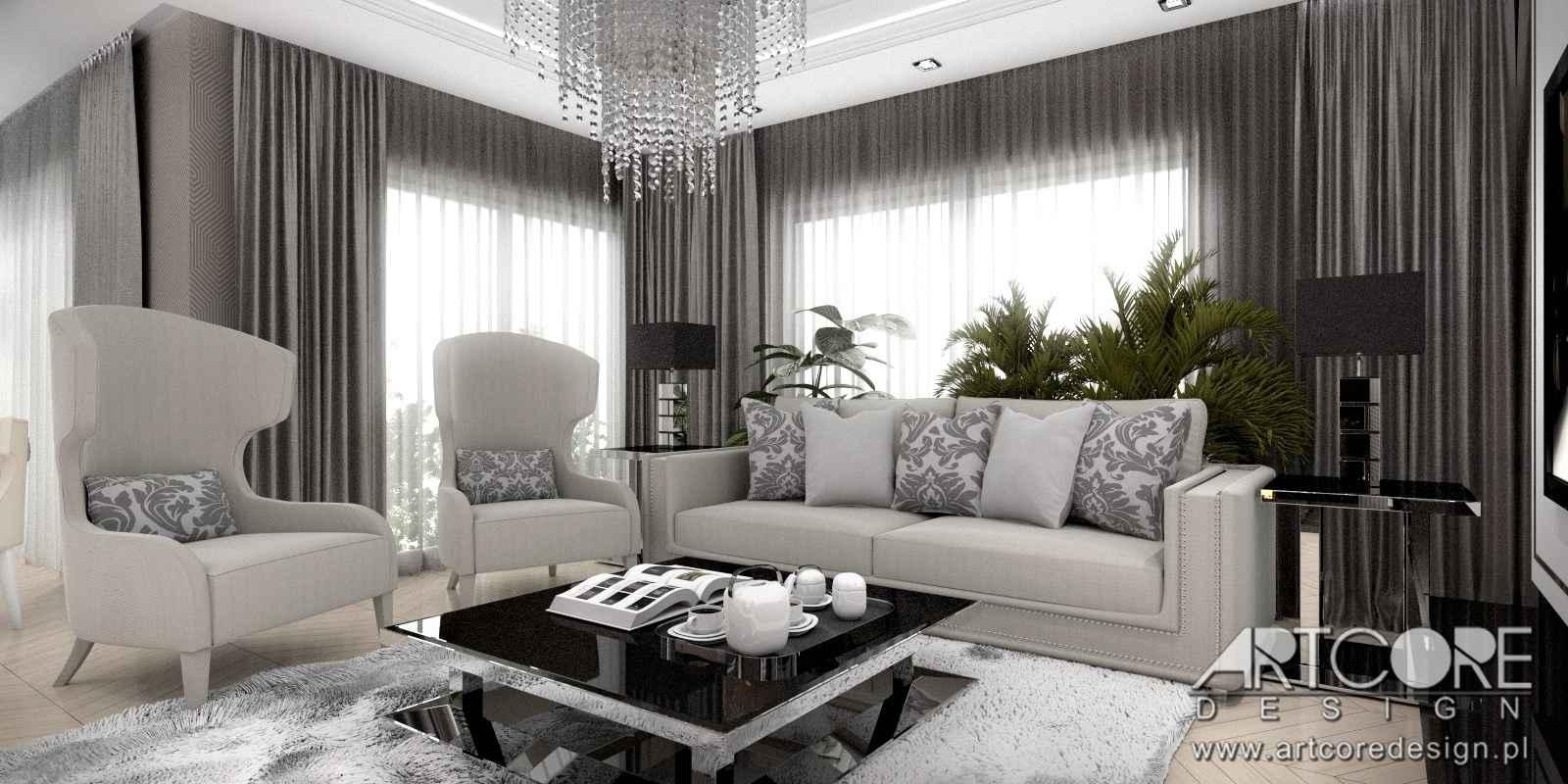 projektowanie-wnętrz-warszawa-klasyczny-salon