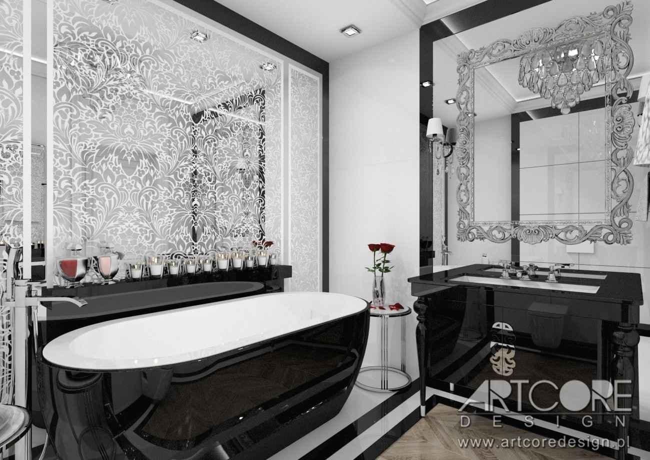 projekt wnętrza łazienki w warszawie