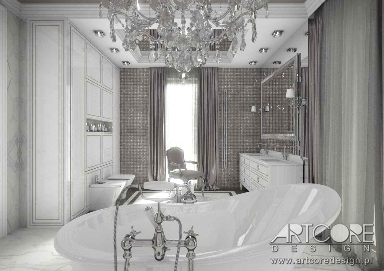 łazienka w warszawie projekt wnętrza